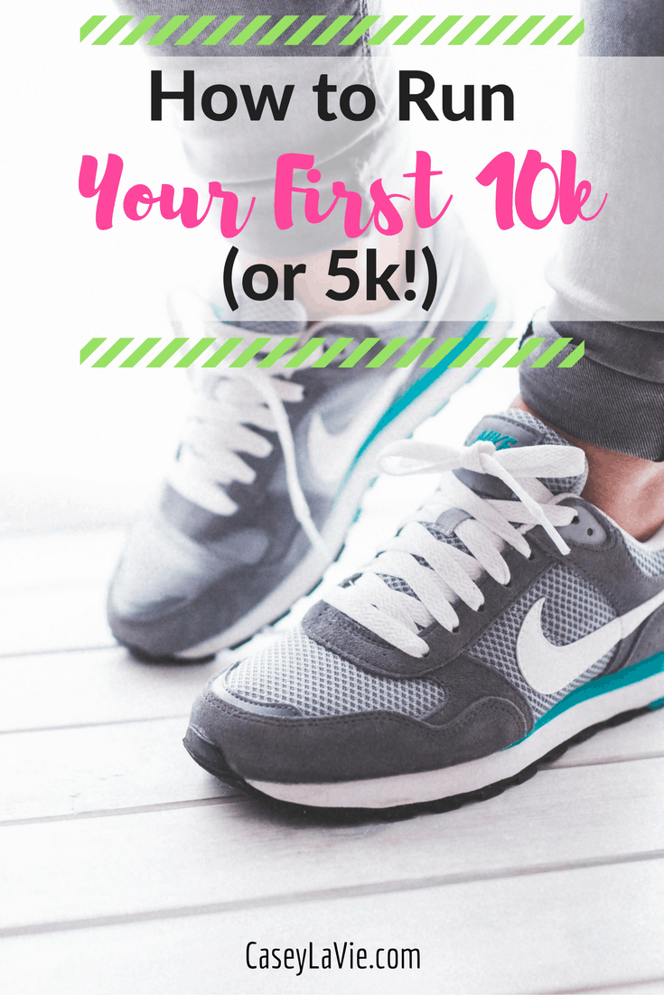 How to Run Your First 10k or 5k in less than 3 months. Read my tips for running advice and get ready to finish your first race!