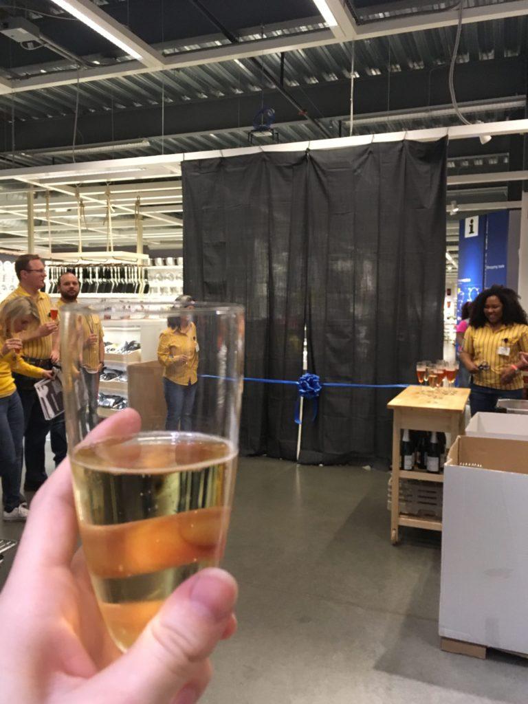 Ribbon Cutting Ceremony at Ikea