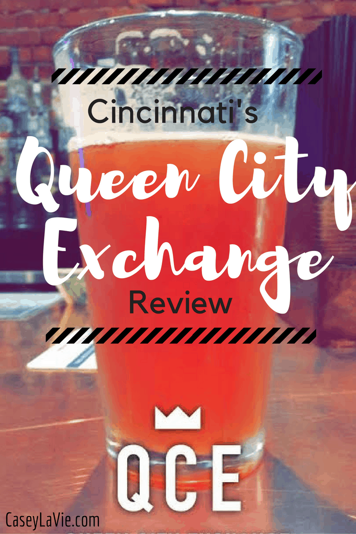 Queen City Exchange is Cincinnati's newest bar and boasts an exciting stock market theme. Beer prices change fluctuate during happy hour based on popularity.