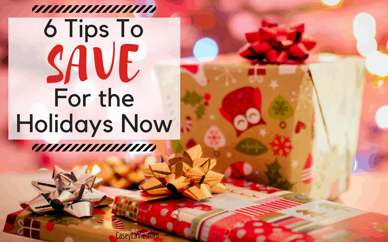 How to Save for the Holidays Now