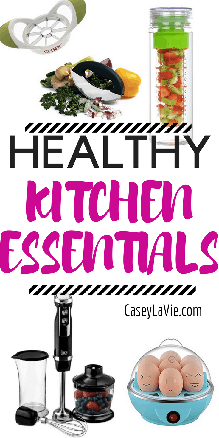 These kitchen tools and appliances will make healthy eating even easier. Meal prep will be a breeze with these healthy kitchen tools.