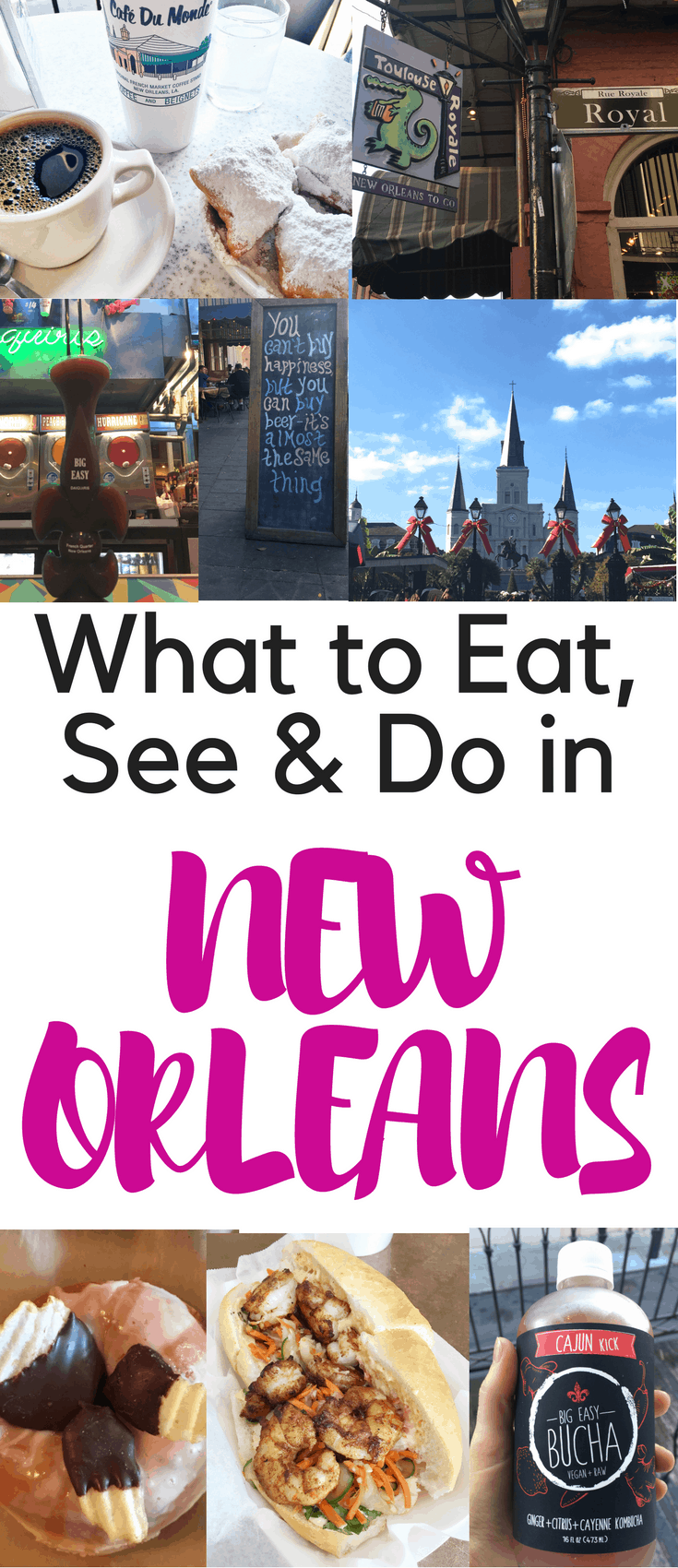 This New Orleans travel guide will show you what to eat, see and do in the French Quarter and beyond. Keep reading to find the best travel tips for New Orleans.