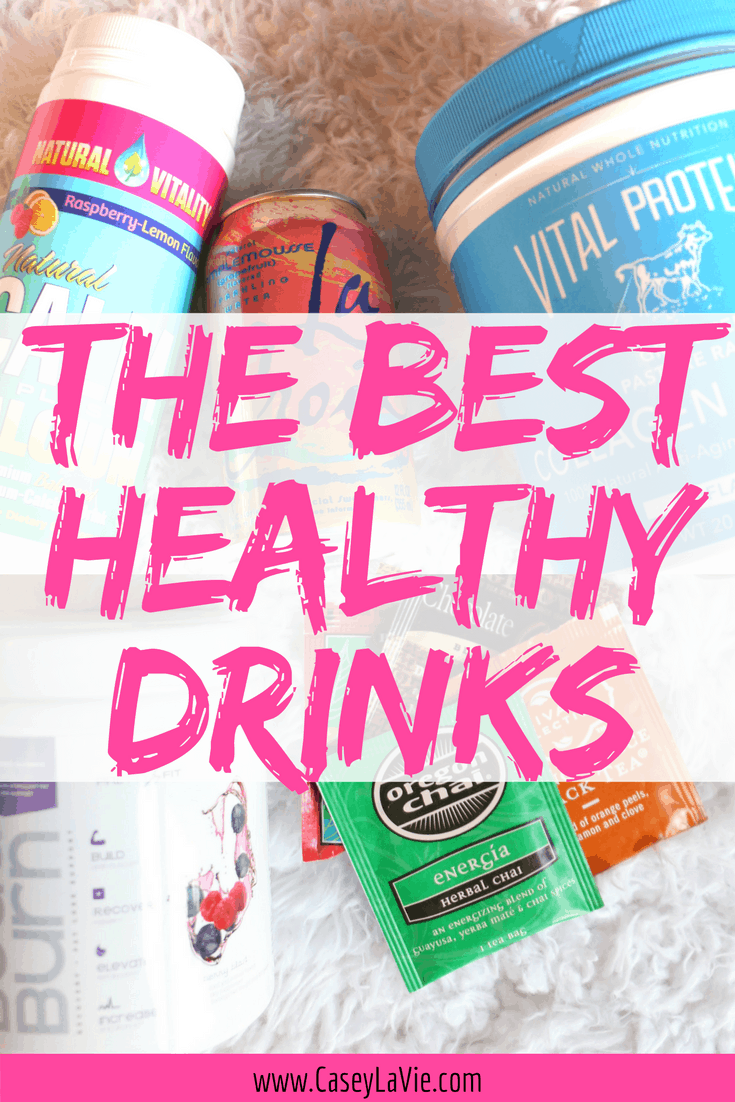 These healthy drinks make a great choice instead of soda. If you're trying to lose weight, look great and feel great keep these healthy drink ideas in mind for summer and all year long.
