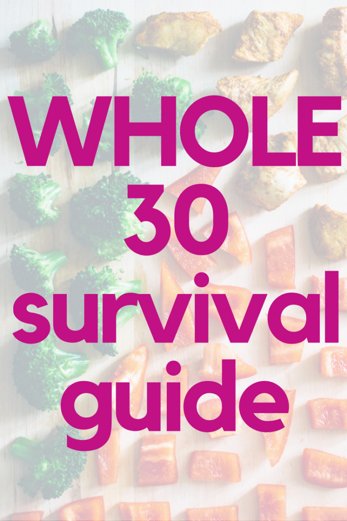 This Whole30 survival guide is full of tips, tricks and meal ideas. to make your Whole 30 a success.