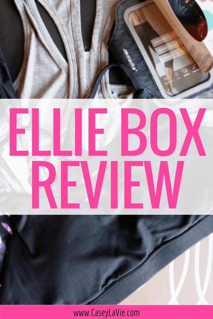 Discover casual, chic and affordable workout & fitness clothing with the Ellie box. Here's my review of the monthly Ellie box that sends you a full workout outfit plus accessories for under $50. You'll look forward to your workout in these cute fitness clothes.