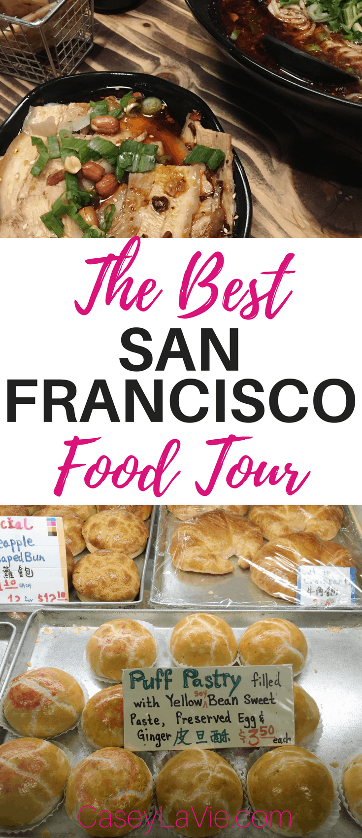 Add a walking food tour to your list of things to do in San Francisco. Enjoy Chinatown and North Beach must-have food during the day or night walking food tour with Local Tastes of the City.