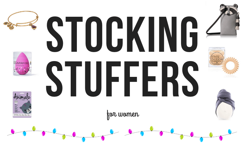 These stocking stuffer ideas for women, teens and girlfriends are easy to order, cheap and super cute. Plus, most are under $10 or under $5 dollars.