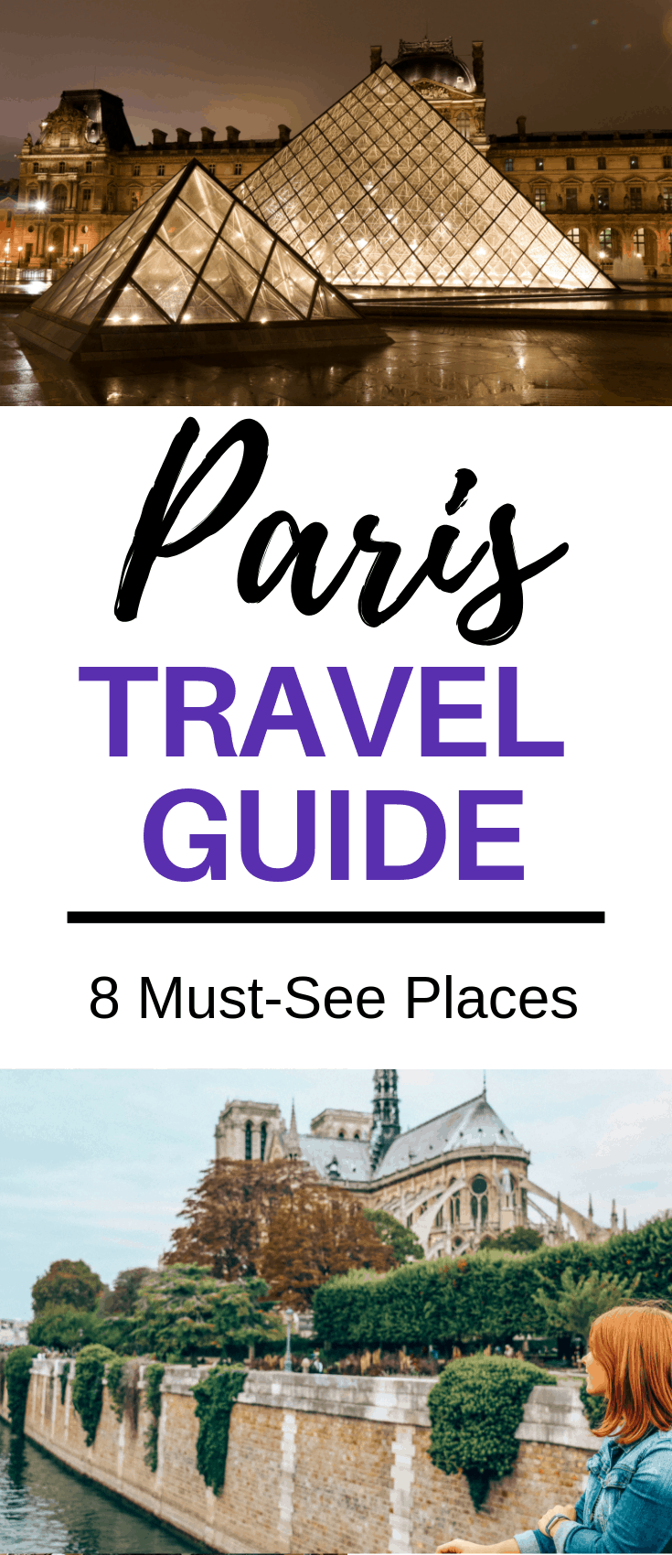 This Paris travel guide covers what to see and the things to do in Paris, France along with some travel tips. I hope this list of the top things to see in Paris, like the Eiffel Tower, Notre Dame and Louvre, helps you whether you're planning for two days in Paris or more.