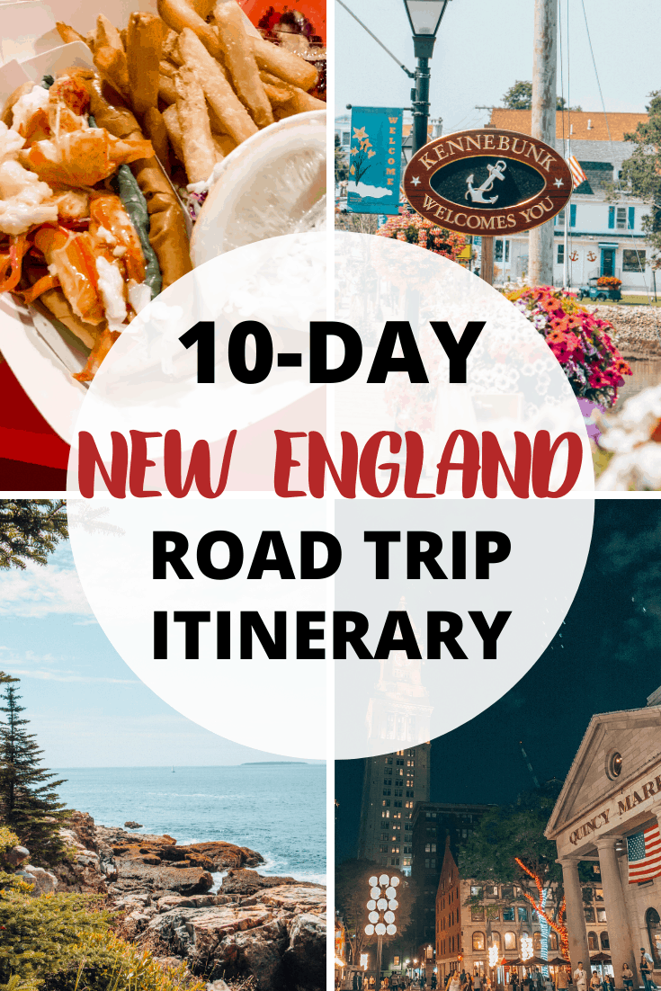 This New England Road Trip itinerary takes you from Boston to Bar Harbor and vice versa. Drive scenic routes through Maine, stopping in Portland and more.