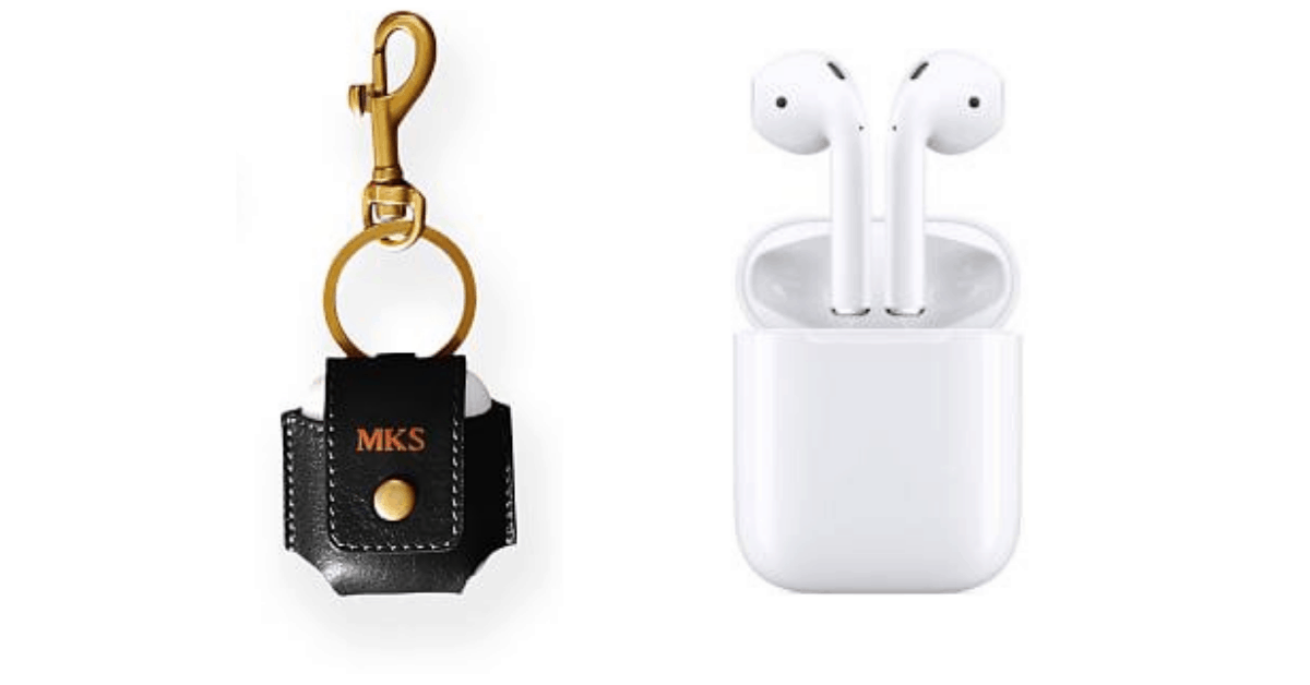 Non-Cheesy Valentine's Day Gifts for Men: Airpods and AirPods case