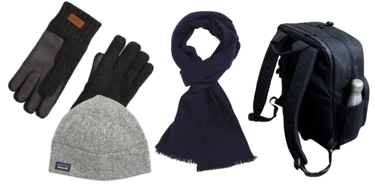 Non-Cheesy Valentine's Day Gift Ideas for Men: Backpacks and Winter Gear