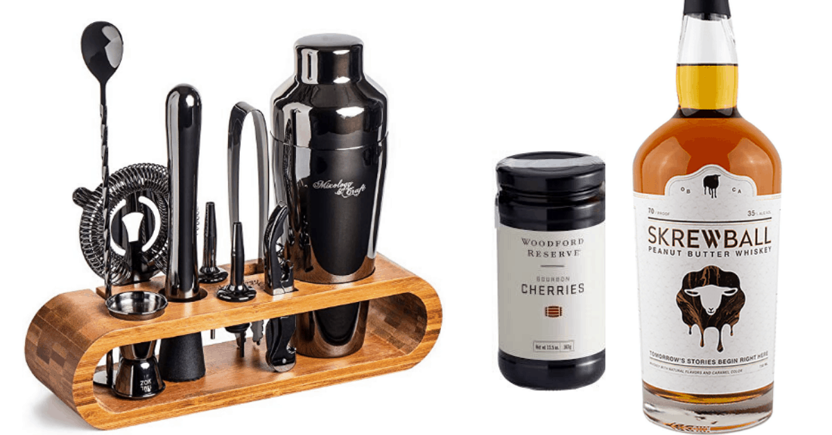 Non-Cheesy Valentine's Day Gift Ideas for Men: Cocktail Sets